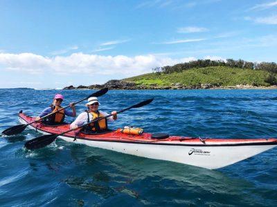 Women Want Adventure kayakers having fun