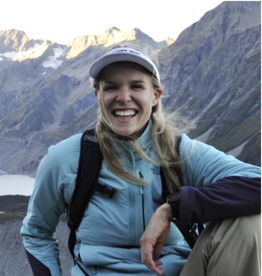 Monique Farmer Women Want Adventure is all smiles