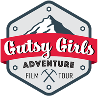 GUTSY GIRL ADVENTURE FILM TOUR Logo