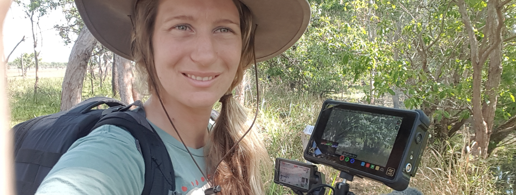 cassie decolling female adventure filmmaker