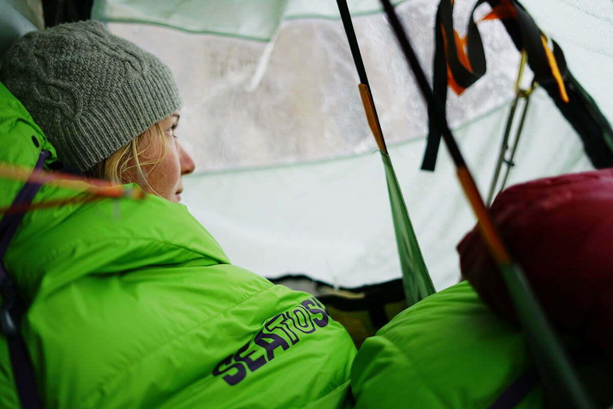 Hazel Findlay climbing Yosemite