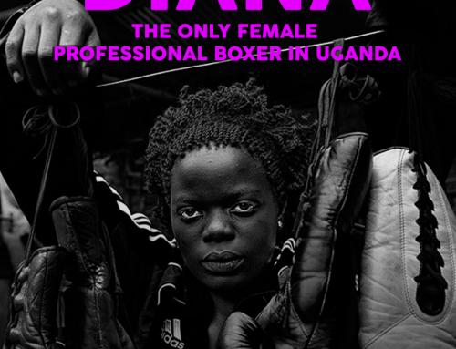 DIANA, UGANDA'S ONLY PROFESSIONAL FEMALE BOXER