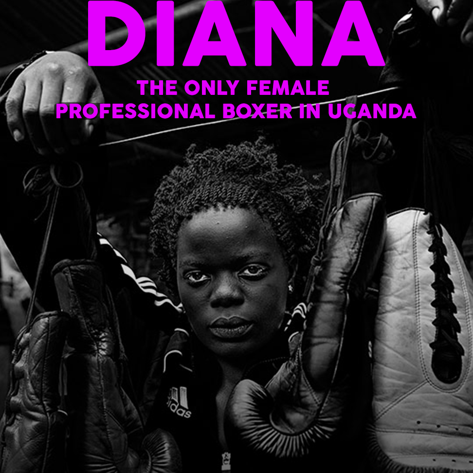 Diana Professional Boxer Uganda